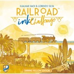 Horrible Guild Railroad Ink Challenge Shining Yellow Edition