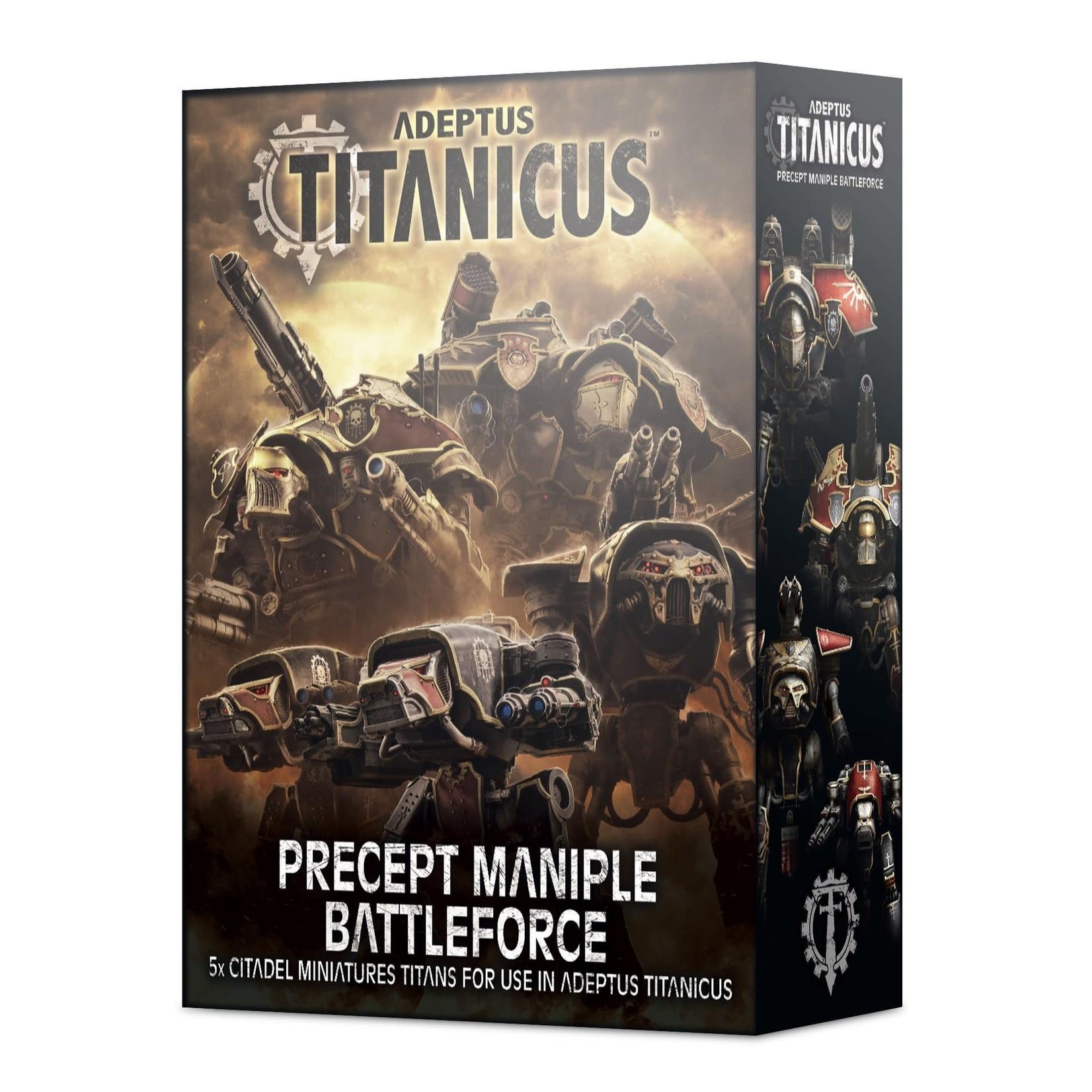 Games Workshop Adeptus Titanicus Precept Maniple Battleforce