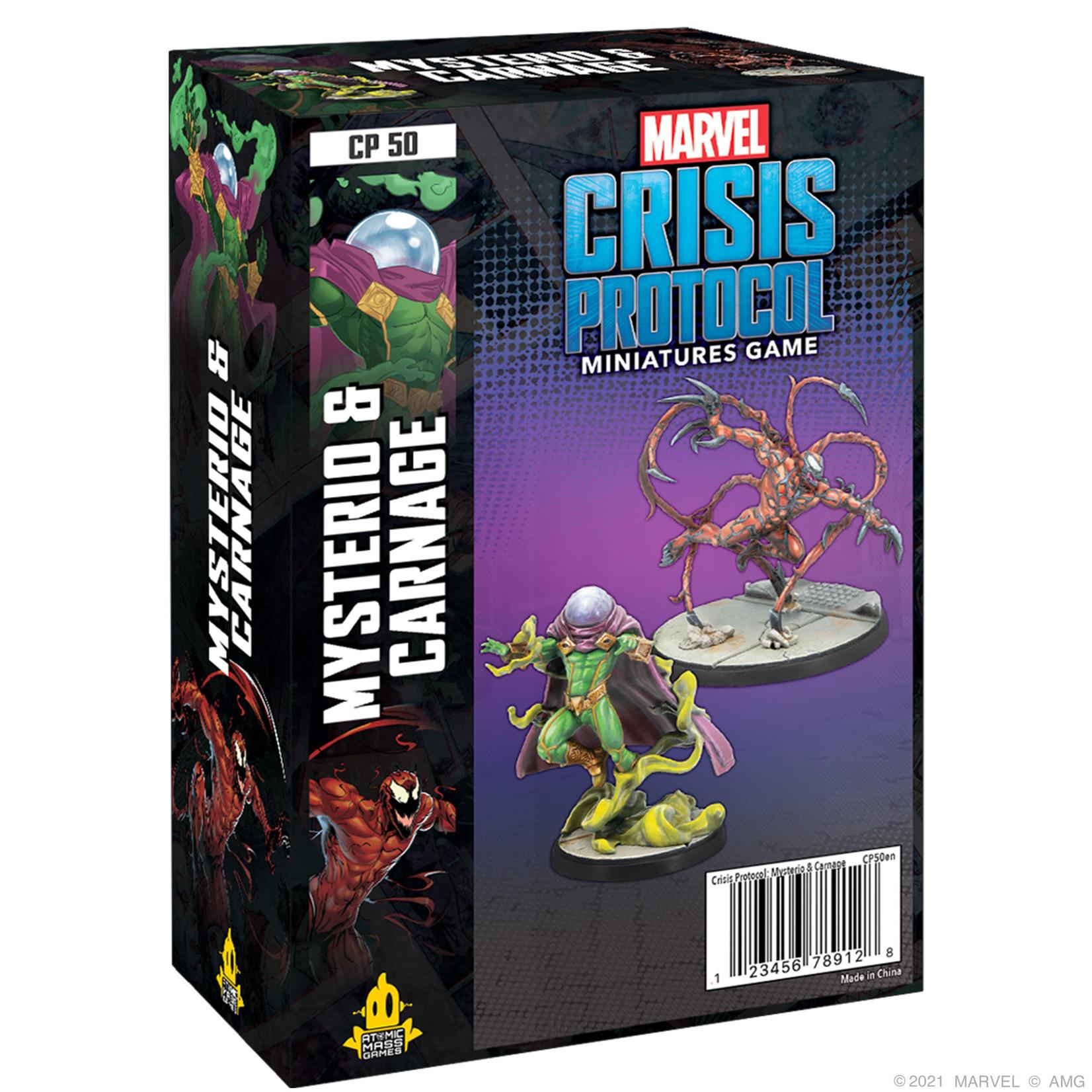 Marvel Crisis Protocol Mysterio & Carnage - Recess Games LLC