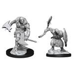 WIZKIDS/NECA D&DNMUM Warforged Barbarian W14