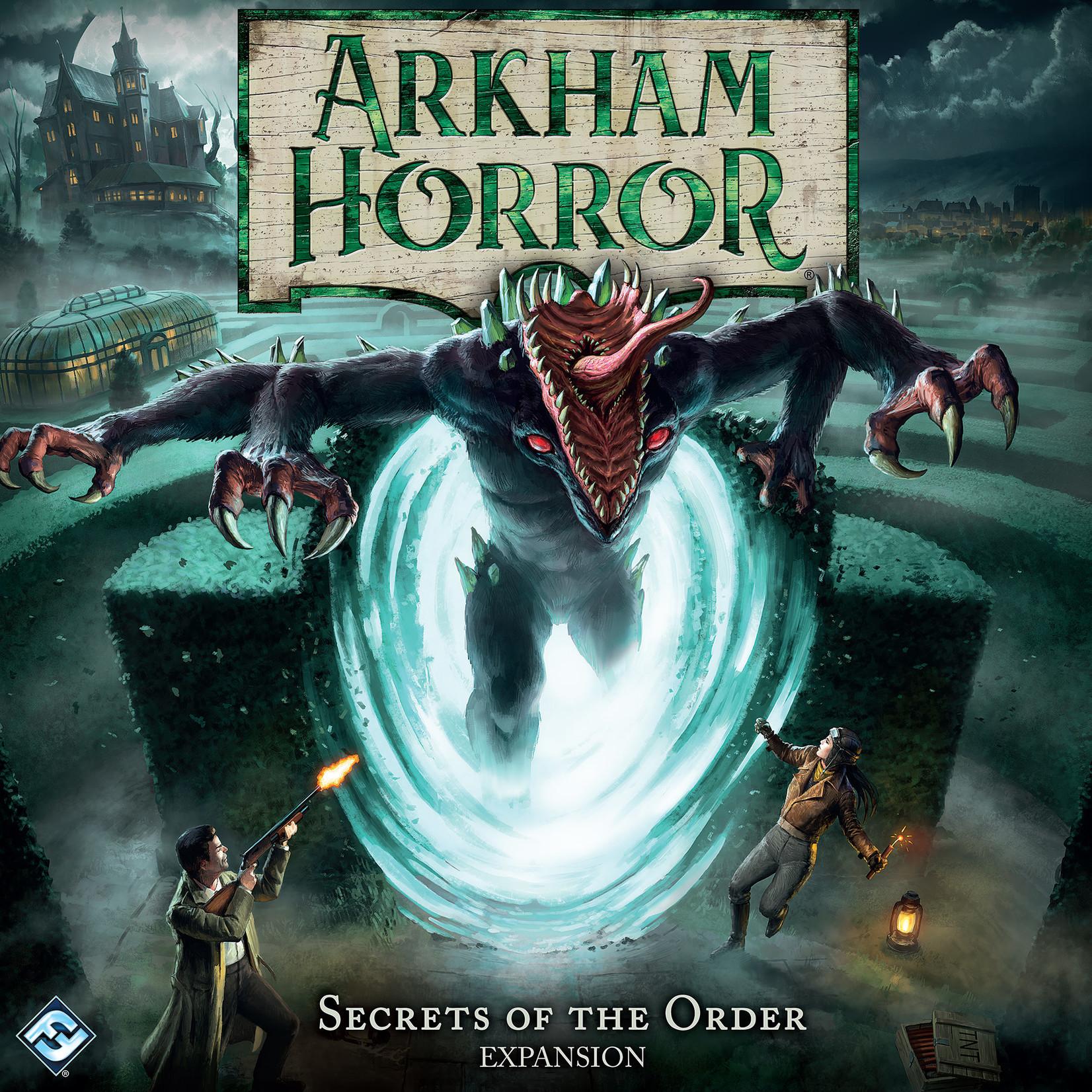 Fantasy Flight Games Arkham Horror  Secrets of the Order