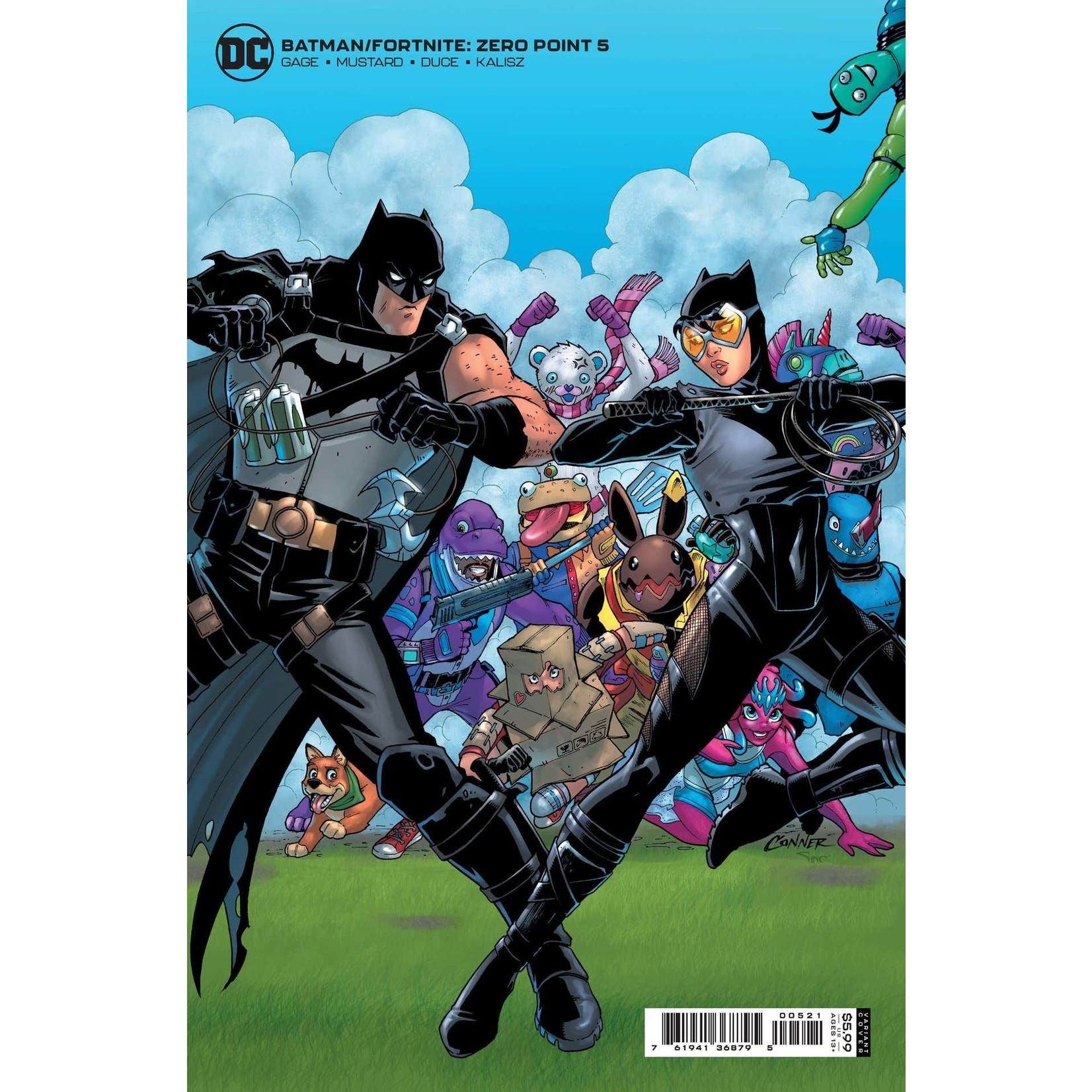 DC COMICS Batman Fortnite Zero Point #5 B