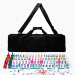 Wood Expressions American Mahjong in Canvas Bag