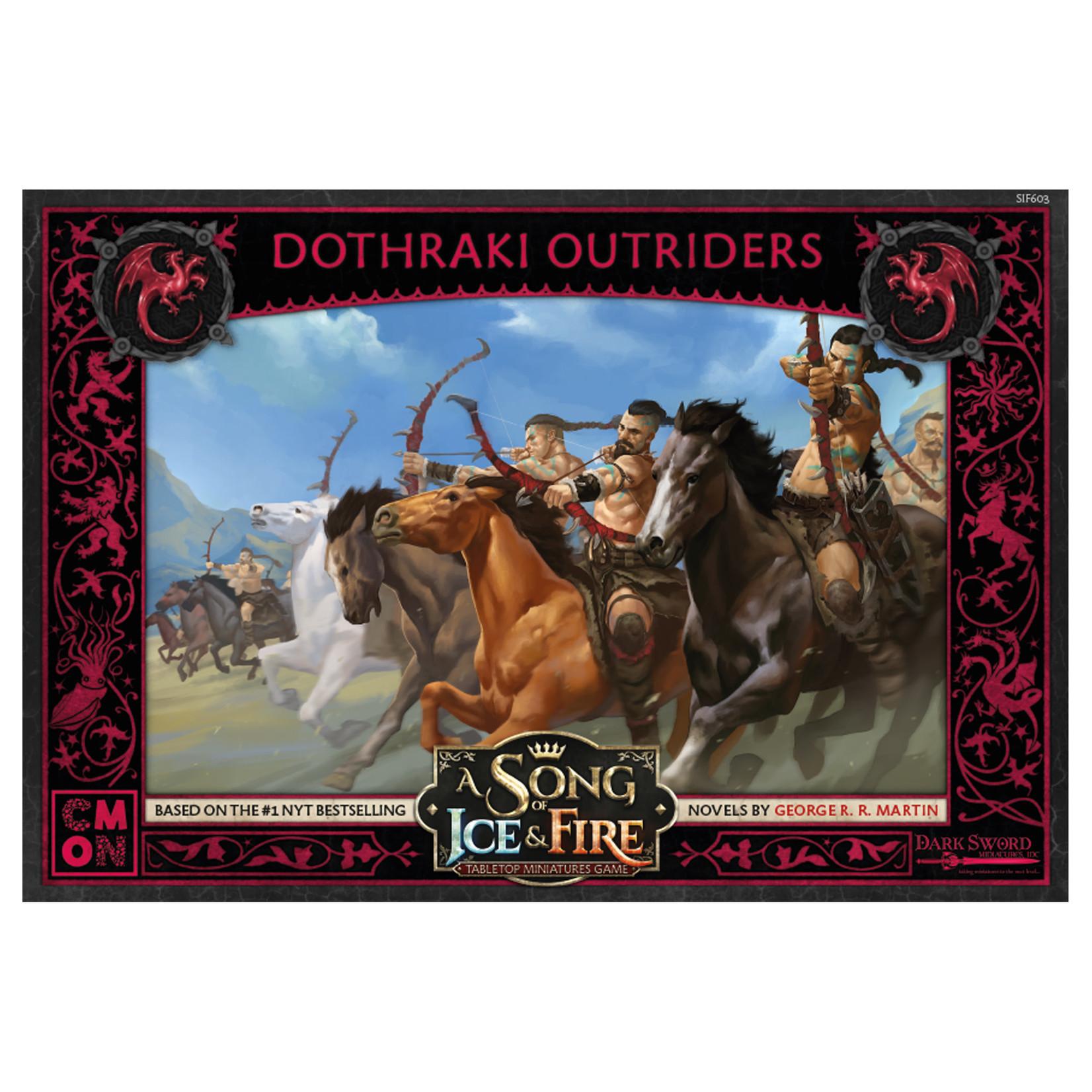 CMON A Song of Ice & Fire Targaryen Dothraki Outriders