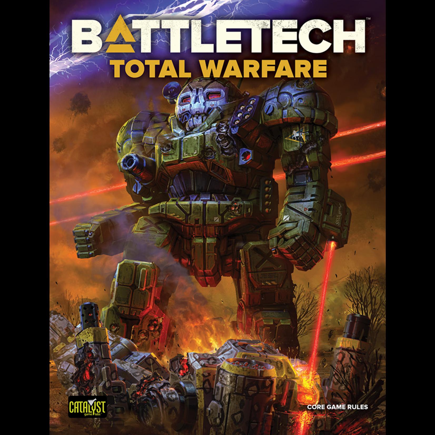 Catalyst Game Labs BattleTech Total Warfare