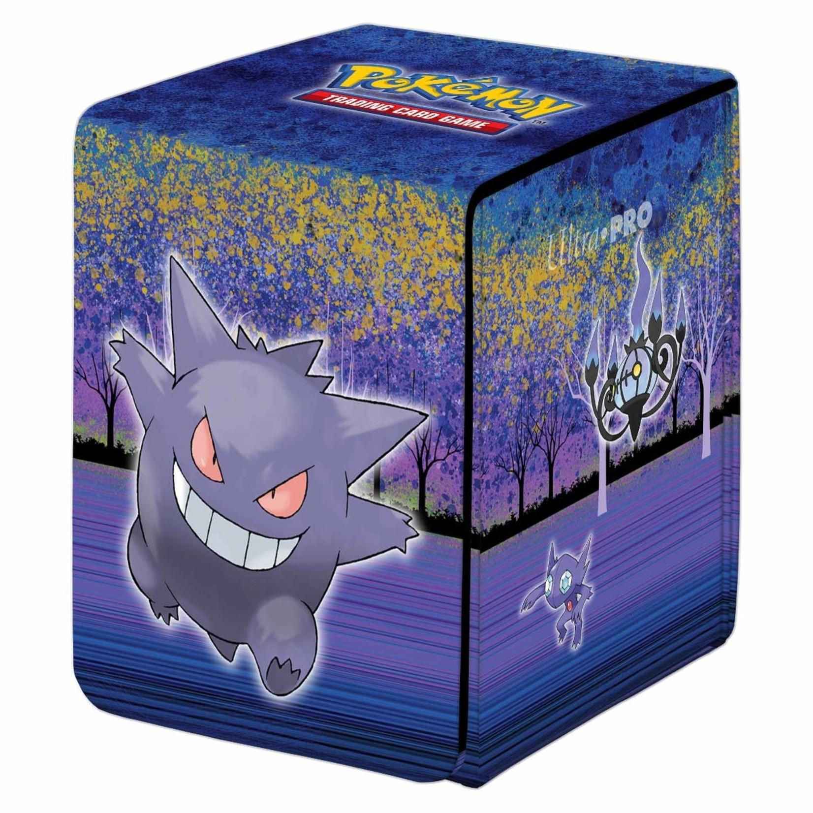 Ultra Pro Alcove Flip Pokemon Gallery Series Haunted Hollow Deck Box