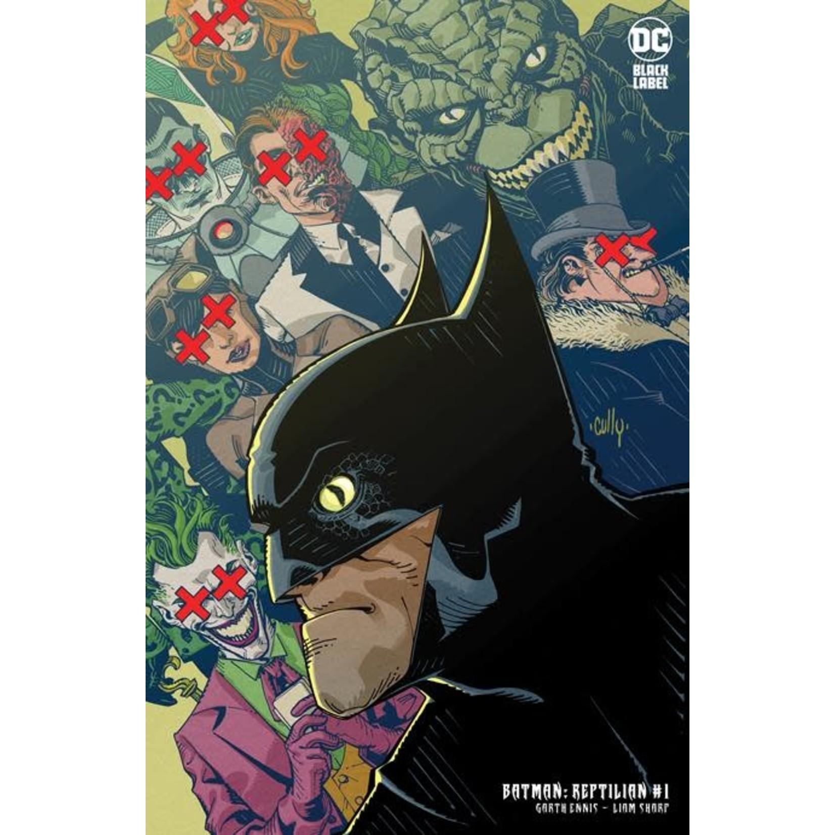 DCU Batman Reptilian #1 B of 6