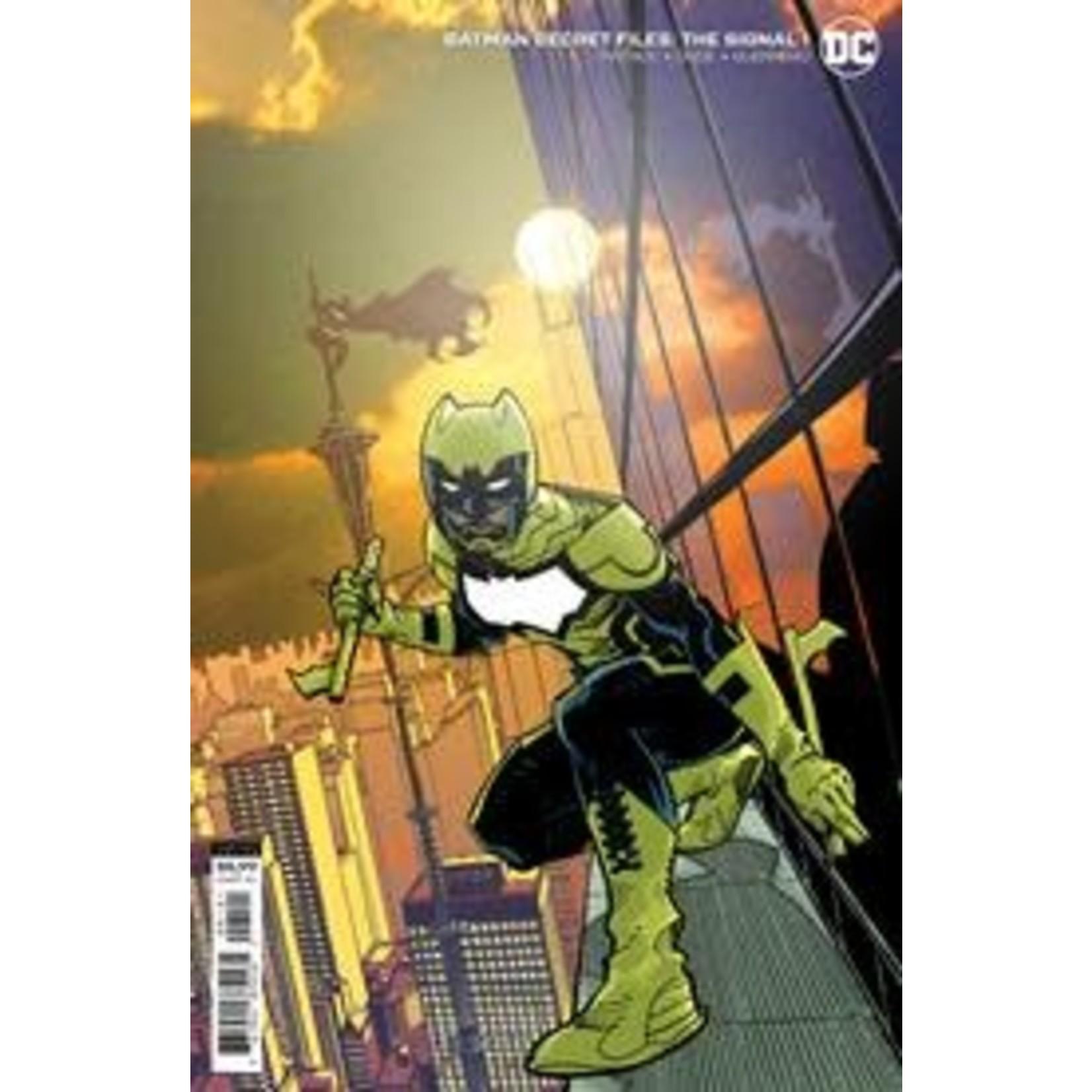 DCU Batman Secret Files The Signal #1 (One Shot) Cvr B