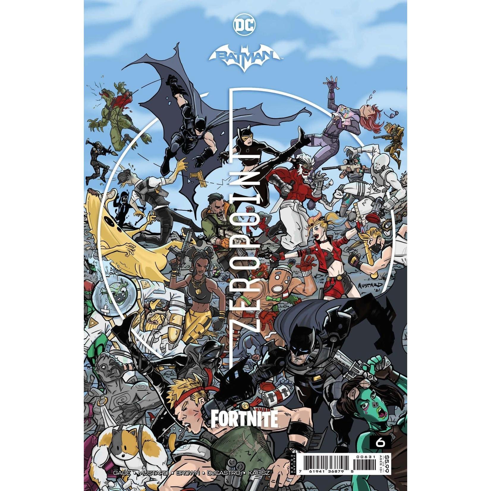 DC COMICS Batman Fortnite Zero Point #6 Premium Variant F