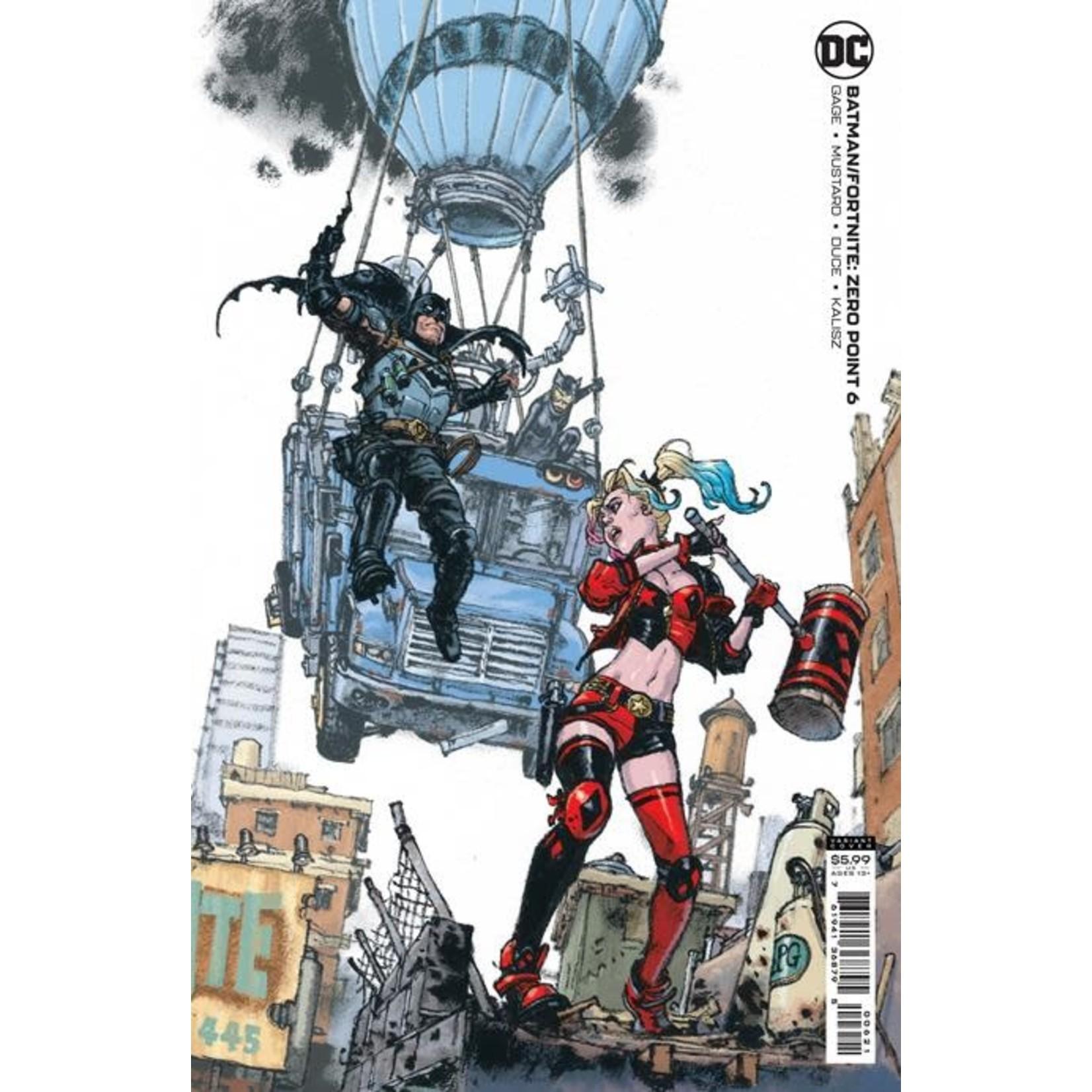 DC COMICS Batman Fortnite Zero Point #6 B