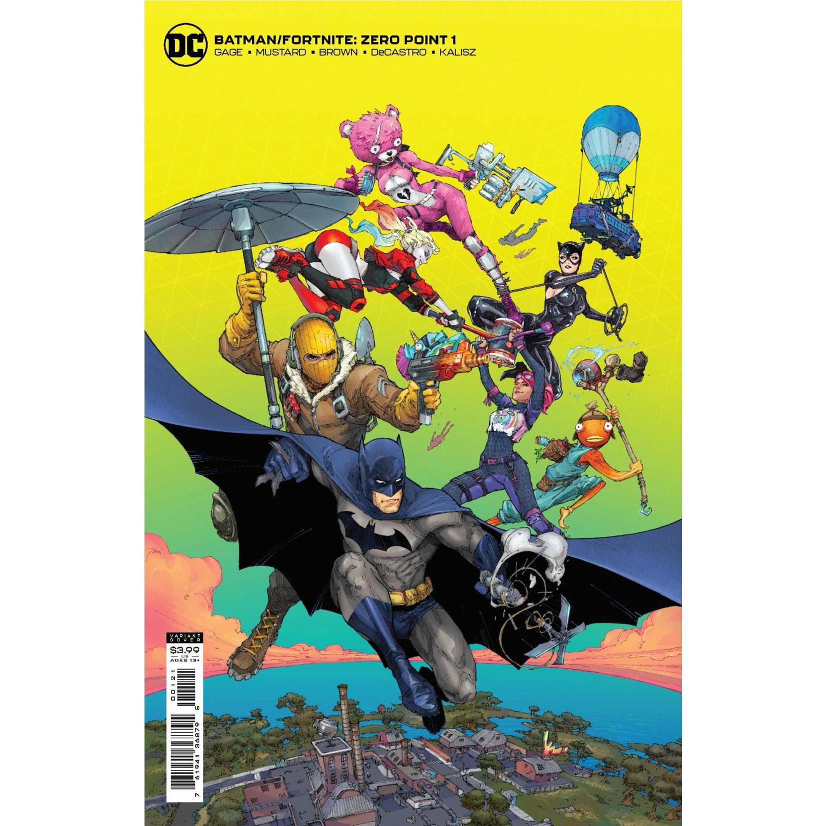 DC COMICS Batman Fortnite Zero Point #1 Cover B