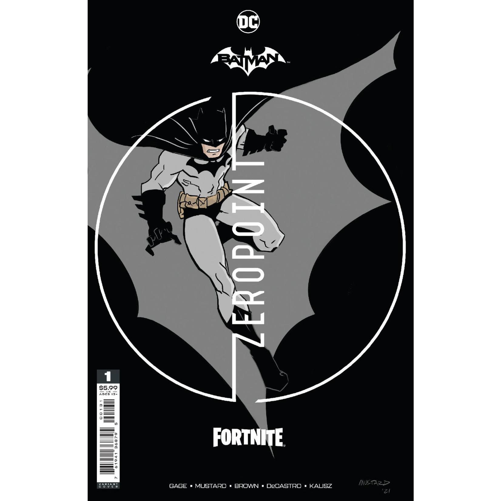 DC COMICS Batman Fortnite Zero Point #1 Premium Variant A