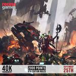 Recess 40k Tournament - September 25, 2021