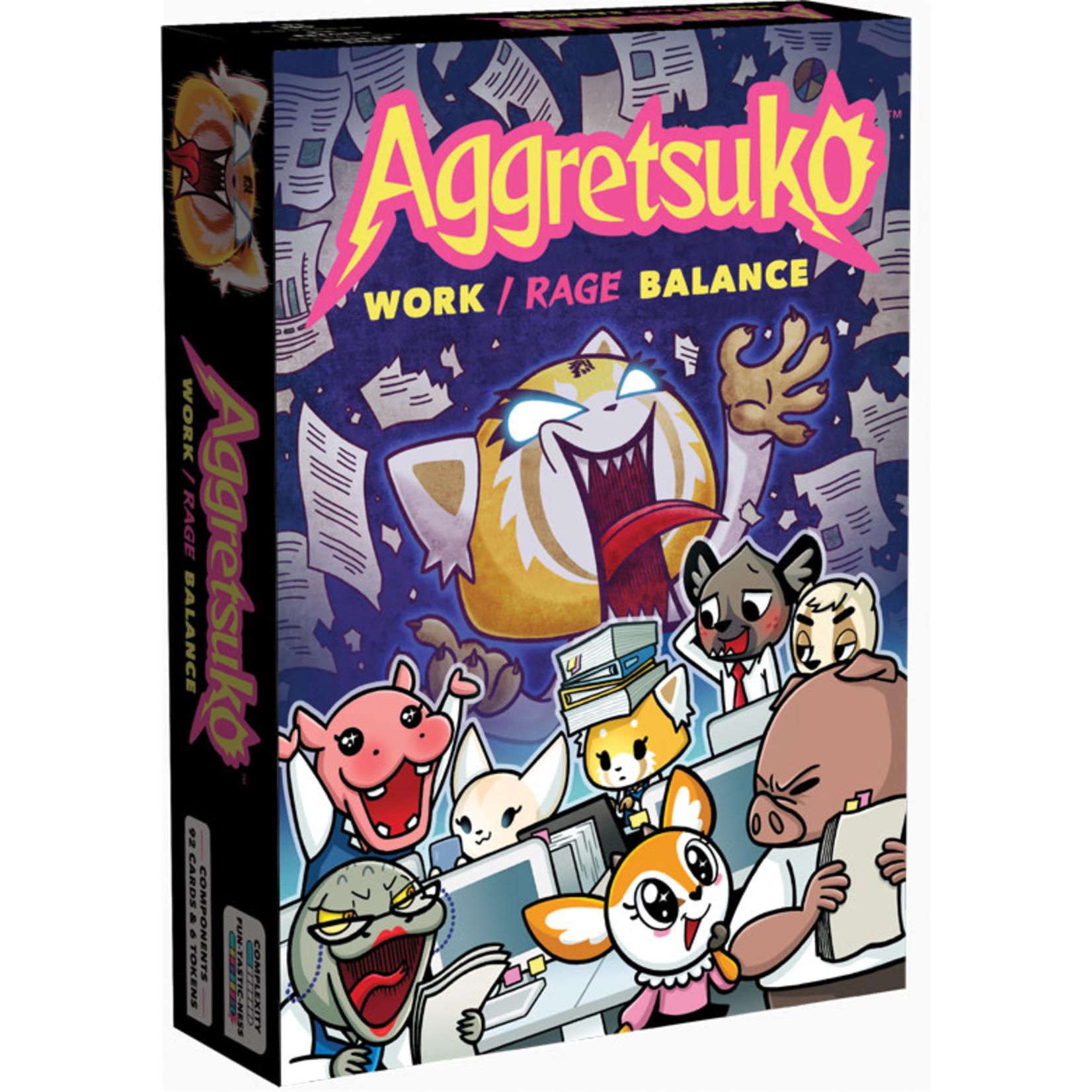 Renegade Game Studios Aggretsuko Work / Rage Balance