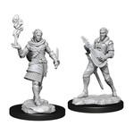 WIZKIDS/NECA CRUM: Pallid Elf Rogue & Bard Male W1