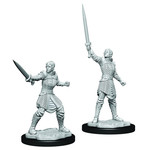 WIZKIDS/NECA CRUM: Human Dwendalian Empire Fighter Female W1