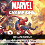 Recess Marvel Champions Organized Play - September 24th