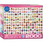 EuroGraphics Cupcakes Galore 2000pc