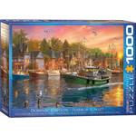 EuroGraphics Harbor Sunset 1000pc