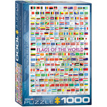 EuroGraphics Flags of the World  1000pc