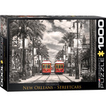 EuroGraphics New Orleans Streetcars 1000 pc