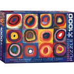 EuroGraphics Color Study of Squares Wassily Kandinsky 1000 pc