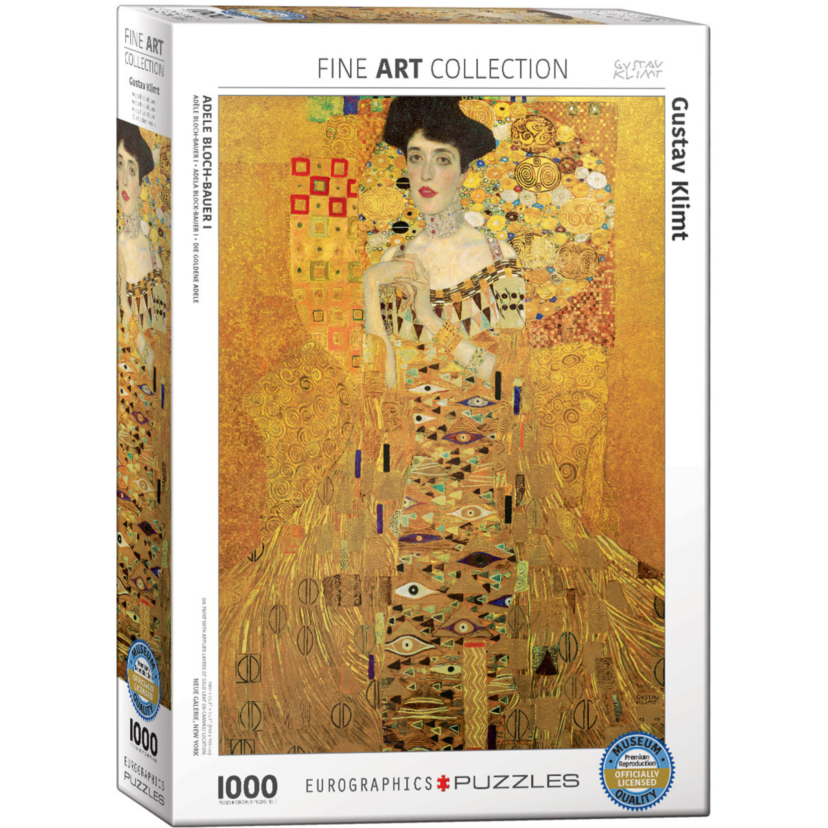EuroGraphics Adele Bloch-Bauer I 1000pc