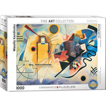 EuroGraphics Yellow Red Blue 1000 pc