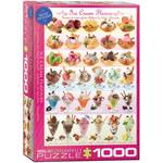 EuroGraphics Ice Cream Flavours 1000pc
