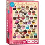 EuroGraphics Chocolate Cupcakes 1000 pc