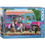 EuroGraphics Dan's Ice Cream Van 1000pc