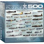 EuroGraphics WWII Aircraft 500 pc