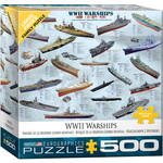 EuroGraphics World War II Warships 500pc