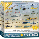 EuroGraphics Military Helicopters 500pc