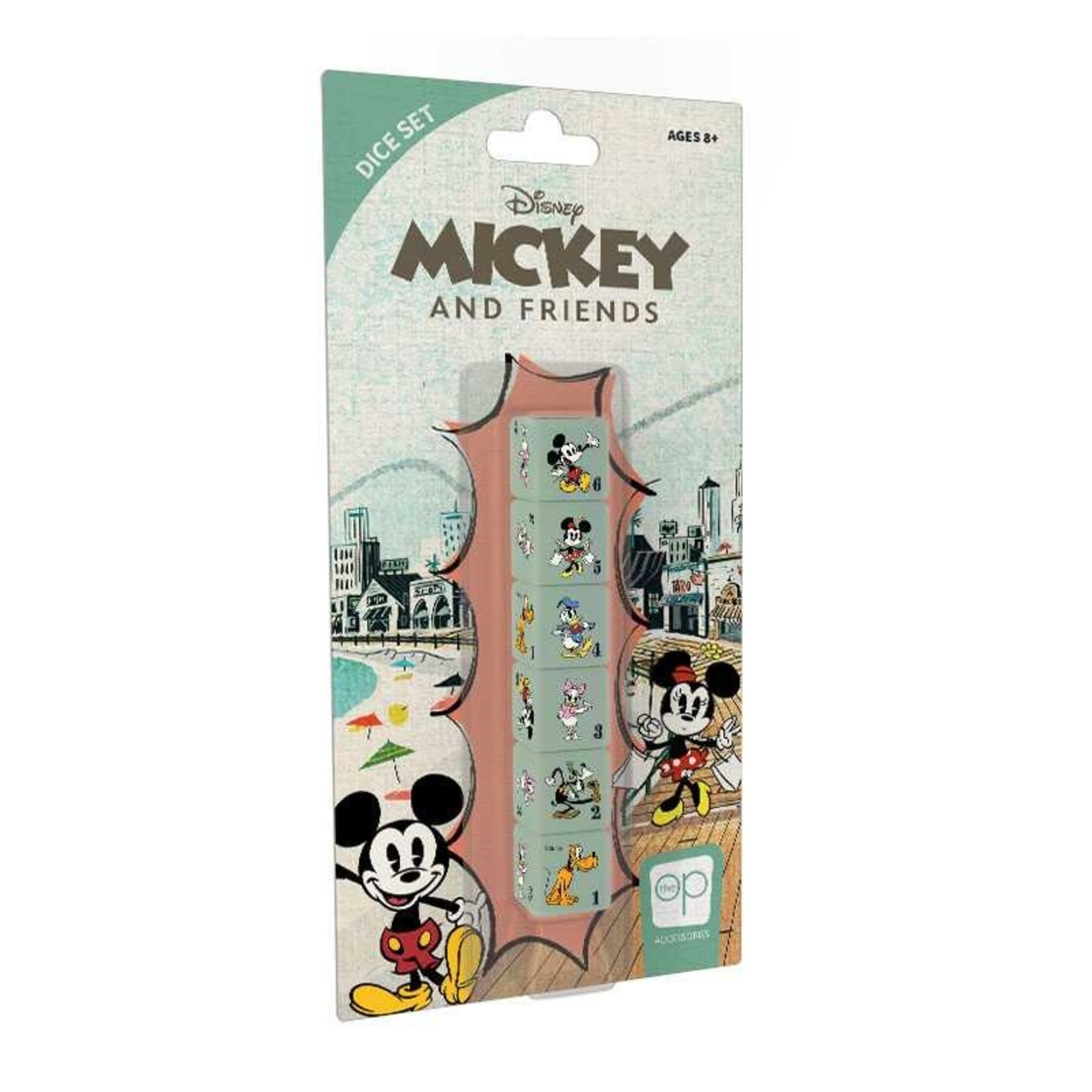 USAopoly Disney Mickey and Friends Dice Set