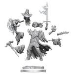 WIZKIDS/NECA D&D Frameworks: Human Warlock Male FW01