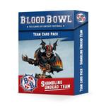 Games Workshop Shambling Undead Blood Bowl Team Cards Pack