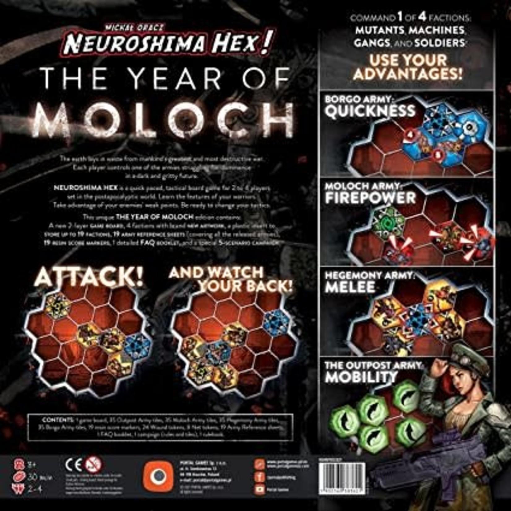 Portal Games Neuroshima Hex 3.0 The Year of Moloch