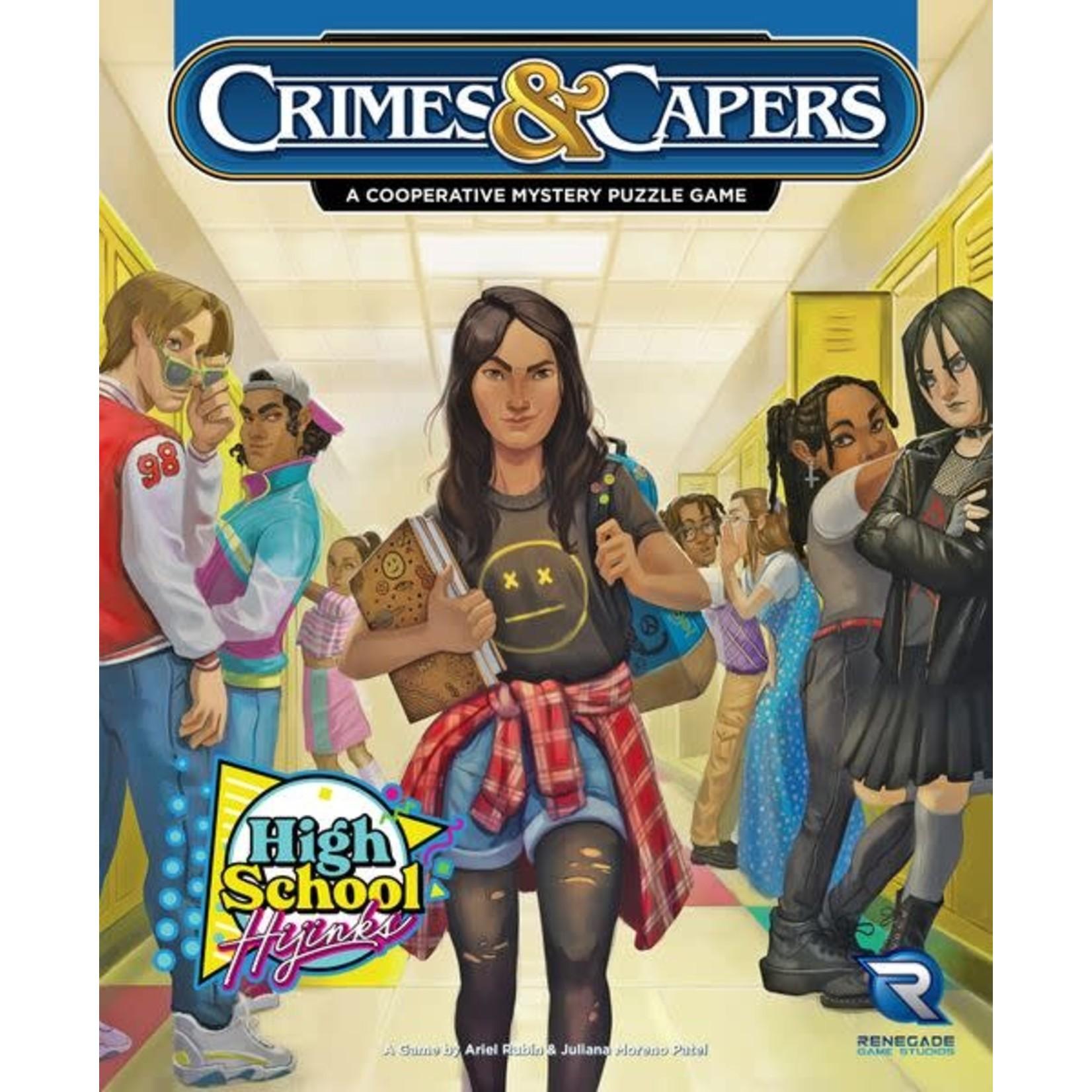 Renegade Game Studios Crimes & Capers High School Hijinks