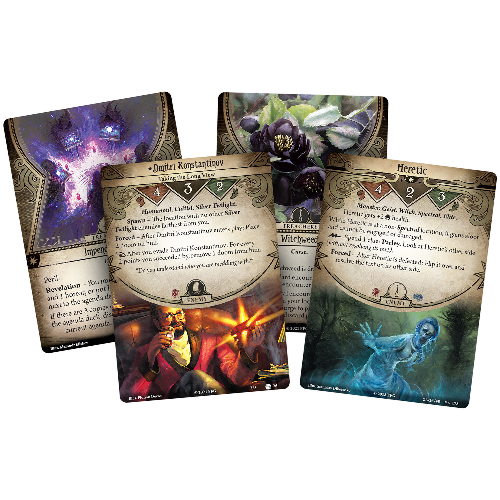Fantasy Flight Games AH LCG: Return to the Circle Undone