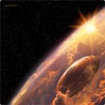 Fantasy Flight Games X-Wing Bespin Playmat