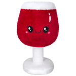 """squishable Boozy Buds Red Wine Glass Squishable 17"""""""