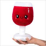 "squishable Mini Boozy Buds Red Wine Glass Squishable 12"""