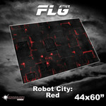 Frontline Gaming FLG Robot City 1 44x60 Red