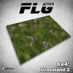 Frontline Gaming FLG Grasslands 2 6x4' Mat