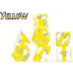 Gate Keeper Games Neutron Dice Yellow d7 set