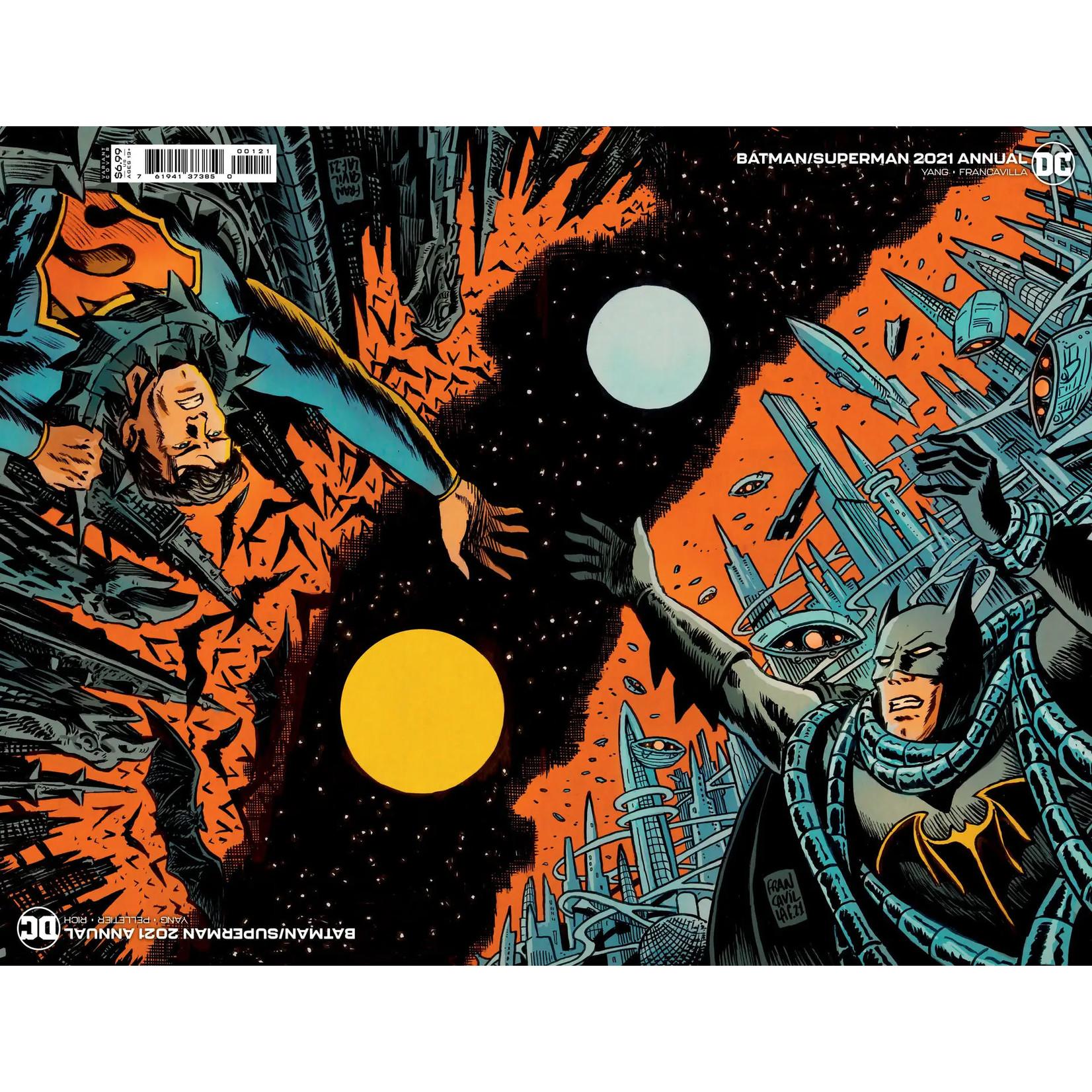 DCU Batman Superman 2021 Annual #1 Cover B