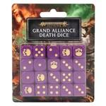 Games Workshop Grand Alliance Death Dice Set