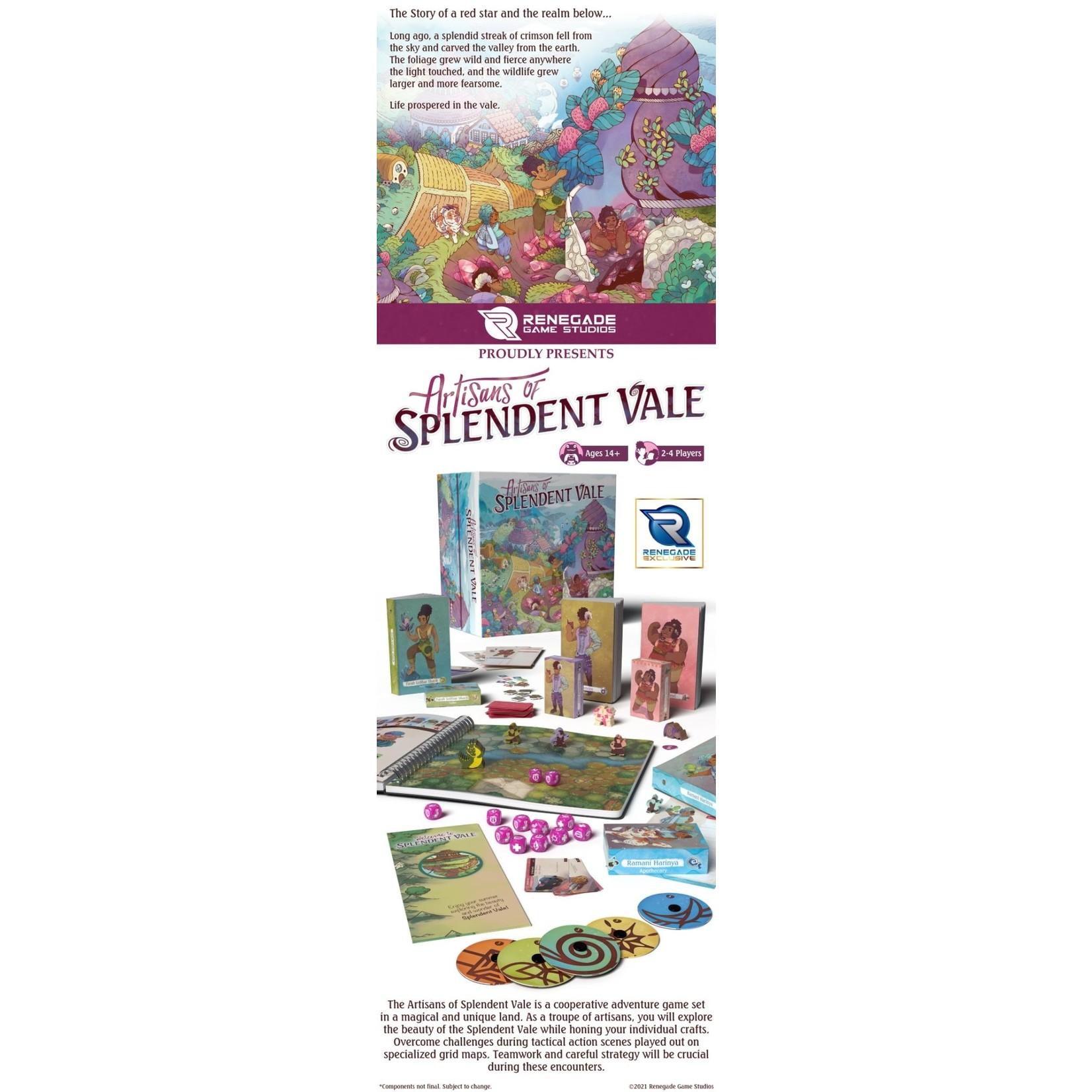 Renegade Game Studios Artisans of Splendent Vale KS