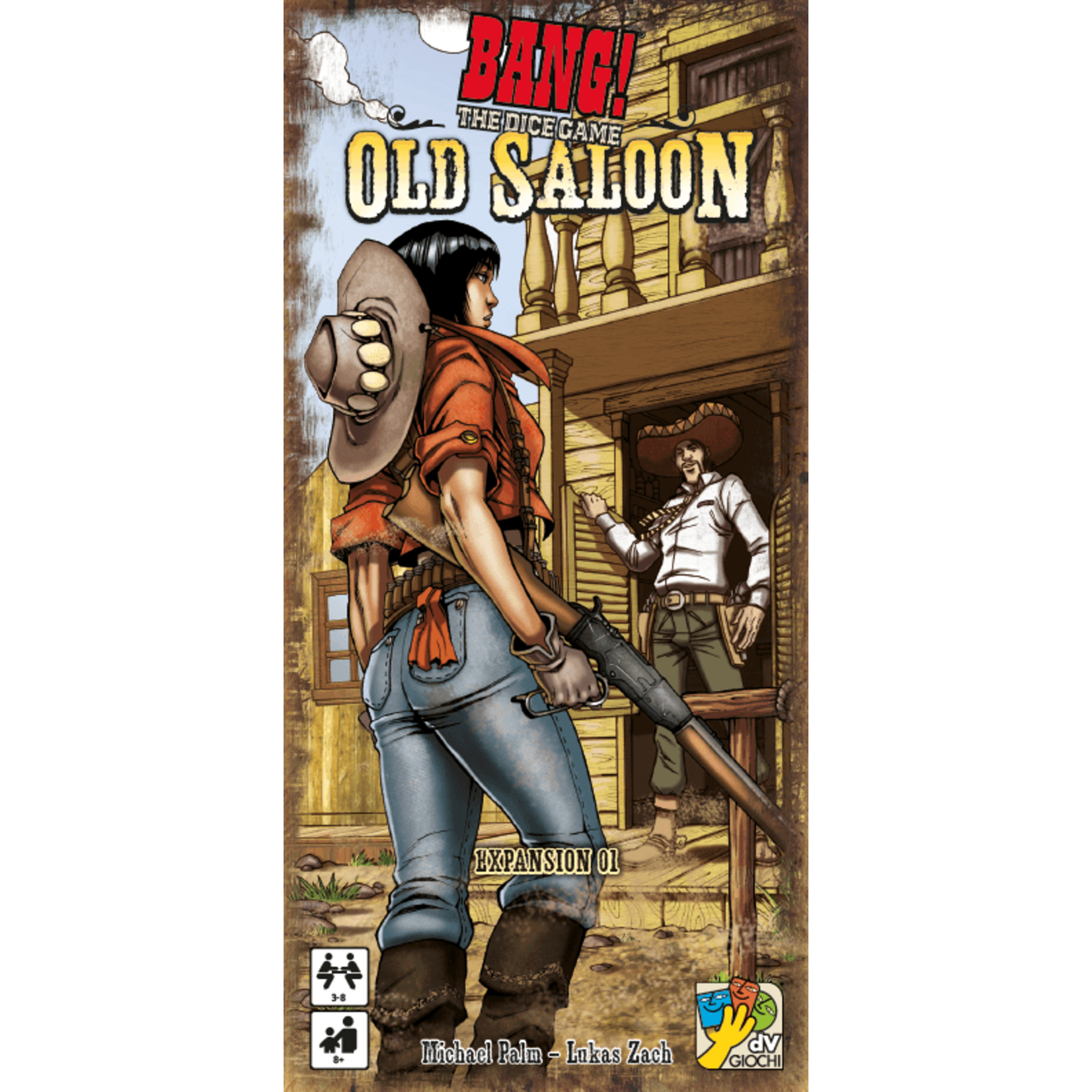 DV GIOCHI BANG! The Dice Game Old Saloon Expansion